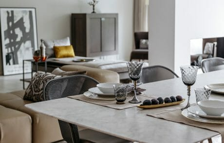 dining and living room decor
